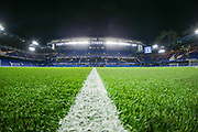 A general view inside Stamford Bridge Stadium prior to the Premier League match between Chelsea and Aston Villa at Stamford Bridge, London, England on 4 December 2019.
