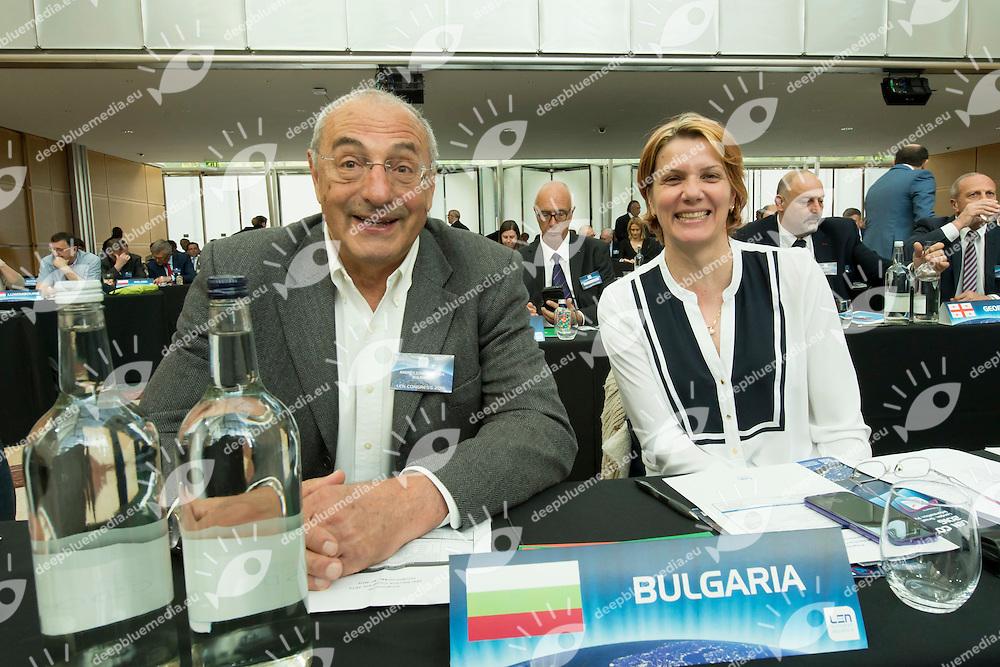 Bulgaria<br /> LEN 2016 Extraordinary Congress<br /> London, East Winter Garden, Canary Wharf<br /> Day 0 08-05-2016<br /> Photo Giorgio Scala/Deepbluemedia/Insidefoto