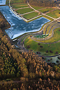 Nederland, Provincie, Plaats, 10-01-2011;.Floriade terrrein (zie eerdr foto's).luchtfoto (toeslag), aerial photo (additional fee required).foto/photo Siebe Swart