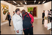 JULIAN SCHNABEL; ADE, Frank Cohen and Nicolai Frahm host Julian Schnabel's 'Every Angel has a Dark Side,' private view and party. IN AID OF CHICKENSHED. Dairy Art Centre, 7a Wakefield Street, London. 24 APRIL 2014