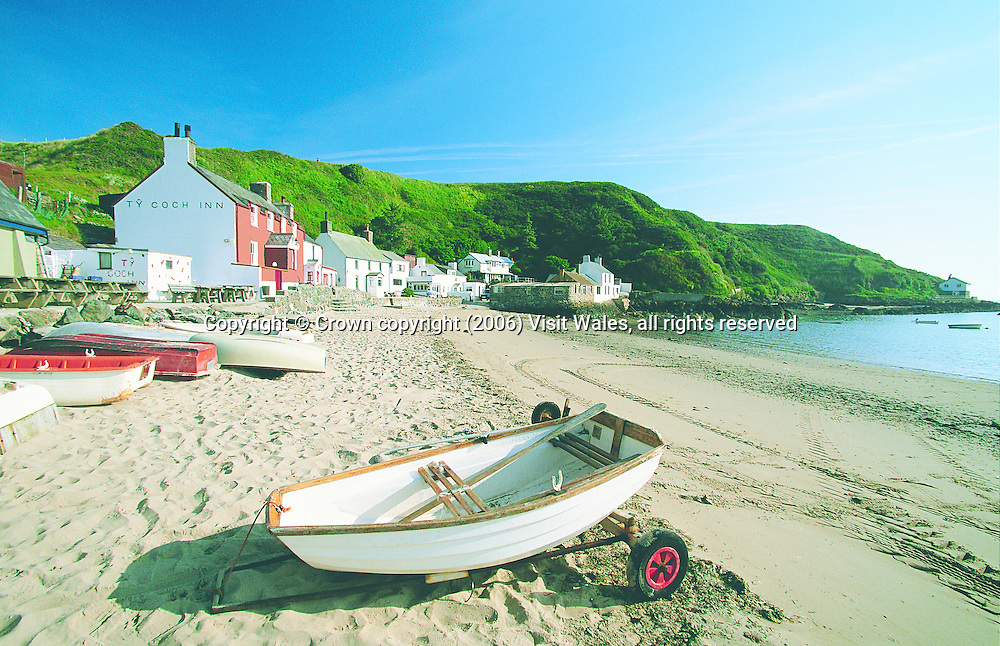 Porth Dinllaen<br /> Llyn Peninsula<br /> North Wales<br /> Towns &amp; Villages