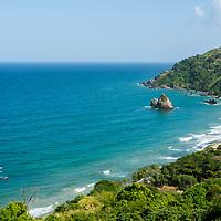 Playa de Oritapo. Caruao. Estado Vargas. Venezuela