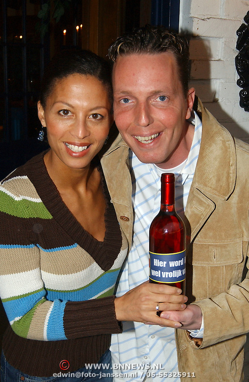 Kook OK boekpresentatie Rob Geus, samen met Maureen du Toit