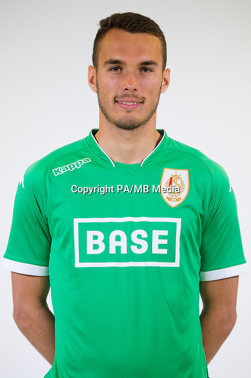 goalkeeper Guillaume Hubert pictured during the 2015-2016 season photo shoot of Belgian first league soccer team Standard de Liege, Monday 13 July 2015 in Liege.