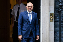 © Licensed to London News Pictures. 30/04/2018. London, UK. SAJID JAVID seen leaving 10 Downing Street after his appointment as Home Secretary following the resignation of Amber Rudd. Photo credit: Rob Pinney/LNP