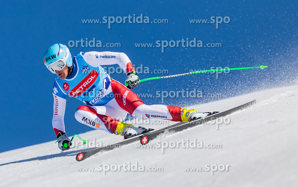 Rogentin Stefan from Switzerland during the downhill of Open National Championship of Slovenia 2019, on March 30, 2019, on Krvavec, Slovenia. Photo by Urban Meglic / Sportida