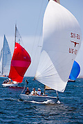 Ranger, 6 Meter Class, sailing in the Robert H. Tiedemann Classic Yachting Weekend race 1.