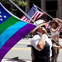 Anuual Pride Parade. LGBT June 24, 2012