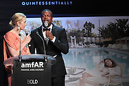 ANTIBES, FRANCE - MAY 24:  Kelly Rutherford and Chris Tucker attend amfAR's Cinema Against AIDS auction at Hotel Du Cap on May 24, 2012 in Antibes, France.  (Photo by Tony Barson/FilmMagic)