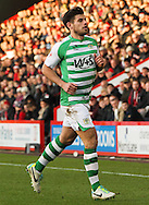 Picture by Tom Smith/Focus Images Ltd 07545141164<br /> 26/12/2013<br /> Joe Edwards of Yeovil Town during the Sky Bet Championship match at the Goldsands Stadium, Bournemouth.