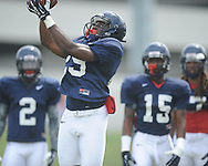Ole Miss defensive back David Kamara (29) at football practice in Oxford, Miss. on Sunday, August 4, 2013.