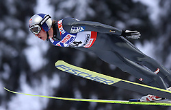 Gregor Schlierenzauer of Austria at Normal Hill Individual Ski jumps at FIS Nordic World Ski Championships Liberec 2008, on February 21, 2009, in Jested, Liberec, Czech Republic. (Photo by Vid Ponikvar / Sportida)