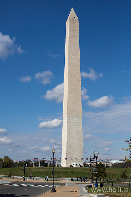 Washington Monument in Washington - Minnisvarði í Washington