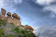 Rock formations on Mt. Lemmon