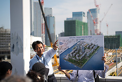 September 5, 2018 - Tokyo, JAPAN - 180905 The Olympic Village and Paralympic Village is being presented during the first World Press Briefing for the 2020 Olympic Games on September 5, 2018 in Tokyo..Photo: Joel Marklund / BILDBYRN / kod JM / 87776 (Credit Image: © Joel Marklund/Bildbyran via ZUMA Press)