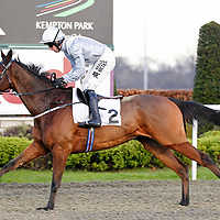 Cousin Knee and Dougie Costello winning the 3.05 race