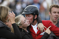 Lansink Jos and daughter<br /> World Equestrian Games Aachen 2006<br /> Photo © Hippo Foto