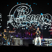 The band Chicago performs at the BancorpSouth Arena Thursday night in Tupelo.