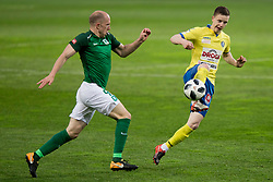 Tomislav Tomic of NK Olimpija Ljubljana during football match between NK Olimpija Ljubljana and NK Celje in 1st leg match in Semifinal of Slovenian cup 2017/2018, on April 4, 2018 in SRC Stozice, Ljubljana, Slovenia. Photo by Urban Urbanc / Sportida