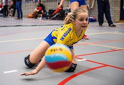 18-02-2017 NED:  Halve Finale NJOK, Houten<br /> In sporthal de kruisboog worden de wedstrijden gespeeld door CMV meisjes en jongens / Webton Hengelo