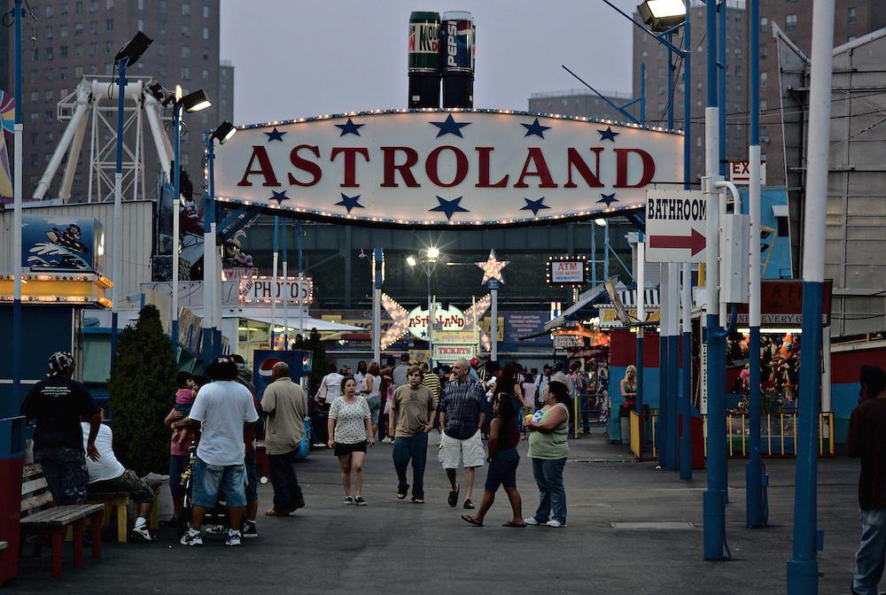 Astroland amusement park, Coney Island, New York
