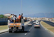 Transport from the Alexandra Township, Johannesburg, South Africa