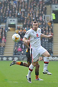 Milton Keynes Dons midfielder Antony Kay(6)  during the Sky Bet Championship match between Hull City and Milton Keynes Dons at the KC Stadium, Kingston upon Hull, England on 12 March 2016. Photo by Ian Lyall.