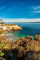 La Jolla Cove, La Jolla (San Diego), California USA.
