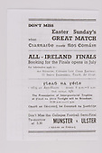 17.03.1945 Railway Cup Football Final