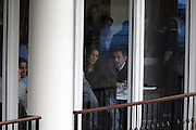 28 March 2010-New York, NY-French President Nicholas Sarkozy and wife, Carla Bruni-Sarkozy dine at Central Park's Boat House at Nicholas Sarkozy Visit to the United States of America held at The Carlyle Hotel in New York City  on March 28, 2010. ..The President of France and his wife, Carla Bruni-Sarkozy are visiting New York City for a short visit before their Tuesday visit at The White House visit with President Obama. Photo Credit: Terrence Jennings/Sipa