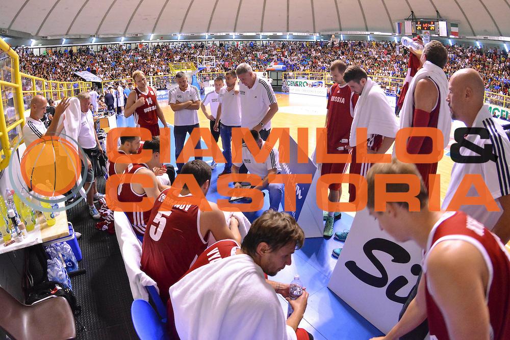 DESCRIZIONE : Cagliari Qualificazione Eurobasket 2015 Qualifying Round Eurobasket 2015 Italia Russia - Italy Russia<br /> GIOCATORE : Evgeny Pashutin<br /> CATEGORIA : Time Out Allenatore Coach<br /> EVENTO : Cagliari Qualificazione Eurobasket 2015 Qualifying Round Eurobasket 2015 Italia Russia - Italy Russia<br /> GARA : Italia Russia - Italy Russia<br /> DATA : 24/08/2014<br /> SPORT : Pallacanestro<br /> AUTORE : Agenzia Ciamillo-Castoria/ Luigi Canu<br /> Galleria: Fip Nazionali 2014<br /> Fotonotizia: Cagliari Qualificazione Eurobasket 2015 Qualifying Round Eurobasket 2015 Italia Russia - Italy Russia<br /> Predefinita :