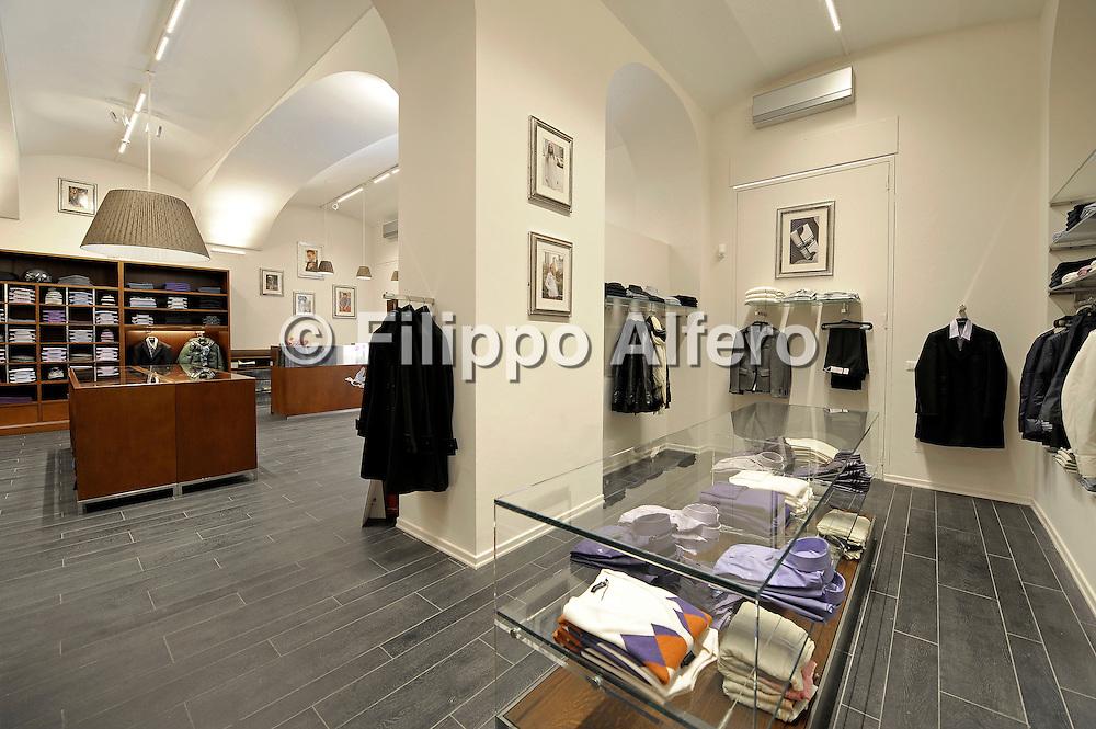 &copy; Filippo Alfero<br /> Negozio Brooksfield - via Lagrange 2d<br /> Torino - 18/09/2009