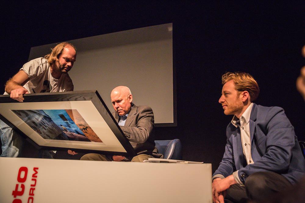 Steve McCurry on Photo13 in Switzerland