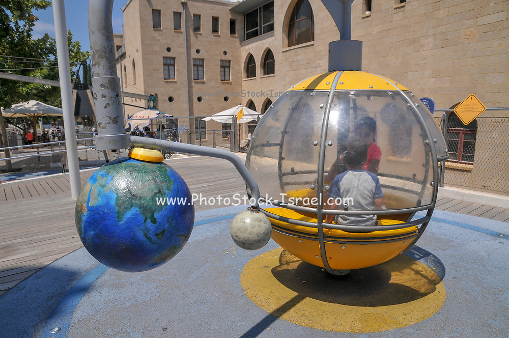 Madatech, Israeli National Museum of Science Technology and Space, Haifa, Israel Solar system exhibit