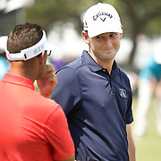 Matt Every and golf coach Sean Foley on the range at Bay Hill on Sunday, March 22, 2015