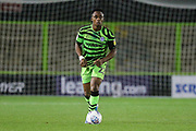 Forest Green Rovers Udoka Godwin-Malife(22) during the Leasing.com EFL Trophy match between Forest Green Rovers and Coventry City at the New Lawn, Forest Green, United Kingdom on 8 October 2019.