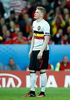 Kevin De Bruyne (Belgium) delusion. delusione<br /> Lille 01-07-2016 Stade Pierre Mauroy Football Euro2016 Wales - Belgium / Galles - Belgio <br /> Quarter-finals. Foto Matteo Ciambelli / Insidefoto