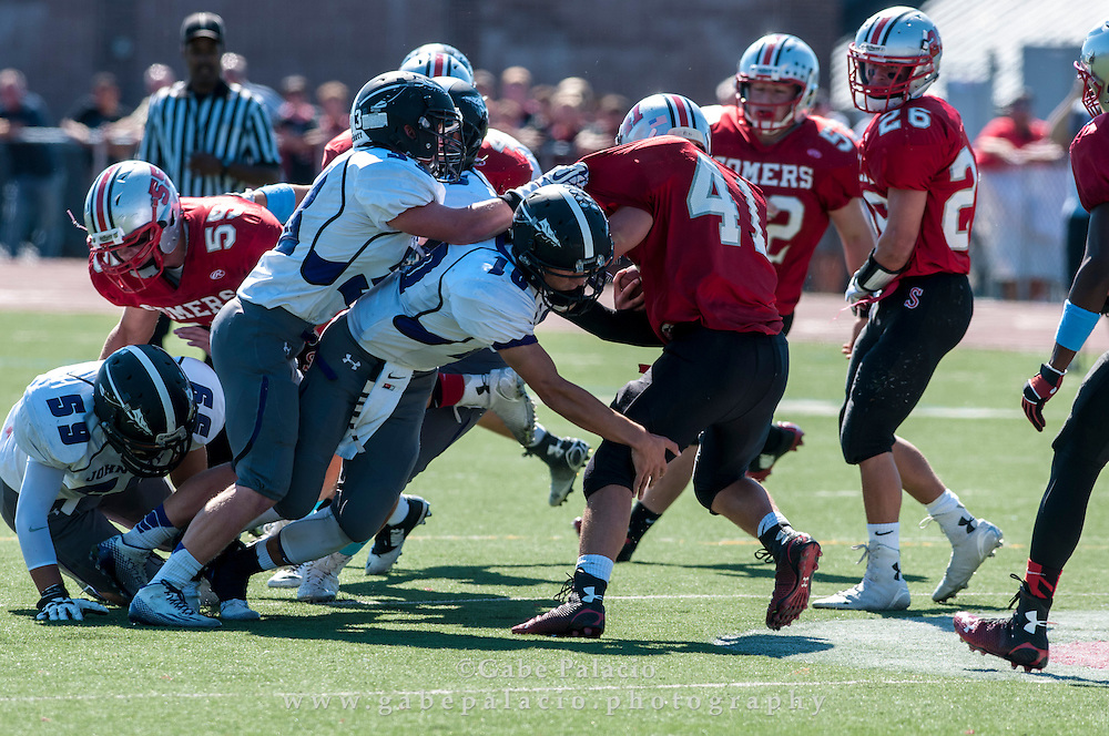 John Jay Varsity Football game at Somers on September 27, 2014. (photo by Gabe Palacio)