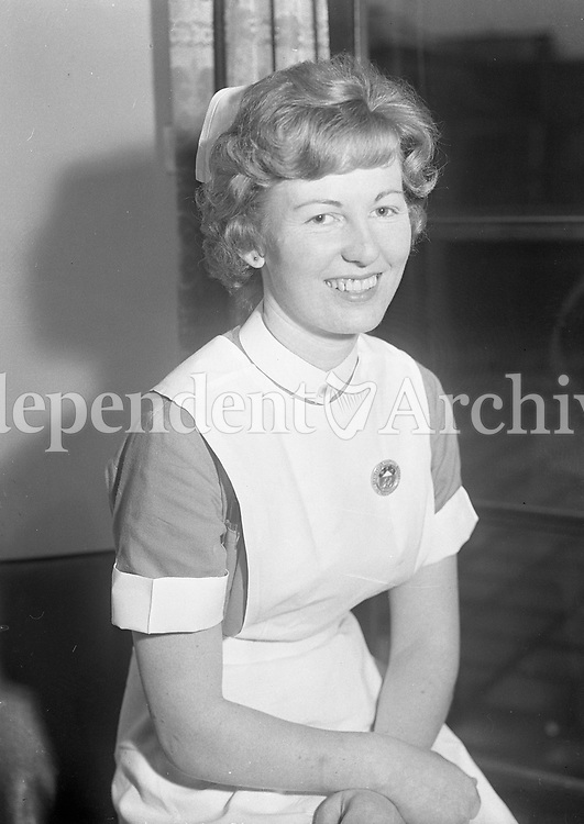 Nurse. Name, date and location unknown.<br />