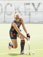 St.-Job-In 't Goor / Antwerpen -  Nederland Jong Oranje Dames (JOD) - Groot Brittannie (7-2).  Ilse Kapelle (ned) COPYRIGHT  KOEN SUYK