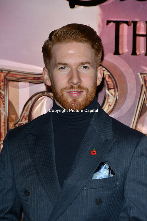 Neil Jones attend The Nutcracker and the Four Realms - UK premiere at Vue Westfield, Westfield Shopping Centre, Ariel Way on 1st Nov 2018, London, UK.