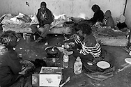 Marlene is cooking breakfast while Beverley and<br />