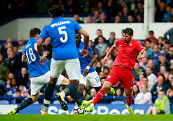 Nolito of Sevilla is brought down by Gareth Barry of Everton for a penalty - Mandatory by-line: Matt McNulty/JMP - 06/08/2017 - FOOTBALL - Goodison Park - Liverpool, England - Everton v Sevilla - Pre-season friendly