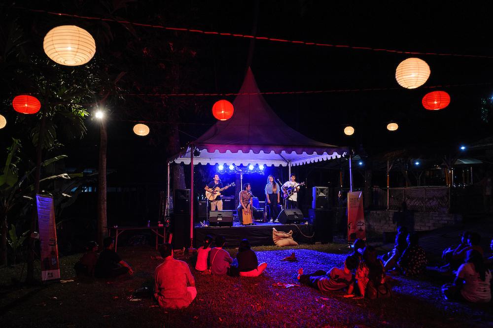 'Twilight Festival', Taman Baca, Ubud Readers and Writers Festival, Ubud, Bali, Indonesia, 13/10/2013.