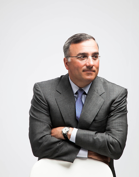Michael Angelakis is the Chief Finacial Officer of the Comcast Corporation and was pictured at the company's headquarters in Philadelphia on April 1, 2010.