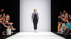 July 3, 2018 - Berlin, Germany - Irene Luft during the presentation of her Spring/Summer 2019 collection during the first day of MBFW Berlin Fashion Weak in the ewerk showspace in Berlin, Germany on July 3, 2018. (Credit Image: © Dominika Zarzycka/NurPhoto via ZUMA Press)