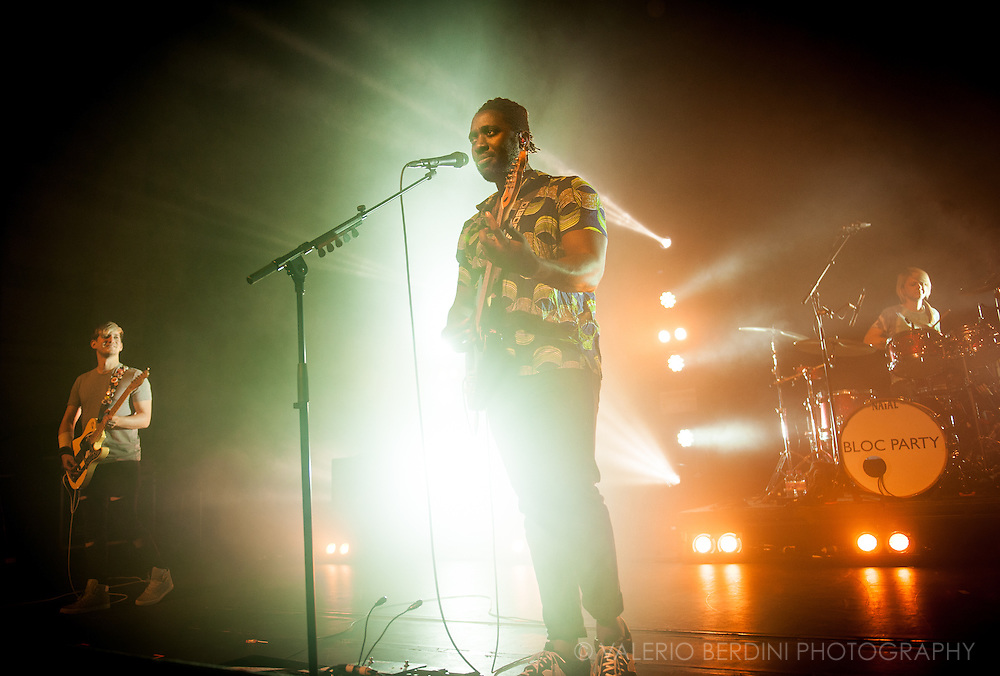 Bloc Party live at the Cambridge Corn Exchange for the NME Awards Tour 2016 in collaboration with Austin, Texas. 9 Feb 2016
