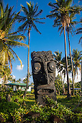 Tiki, Kalapana, Puna, The Big Island of Hawaii