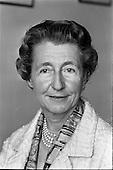 1965 - Madam Seilliere (Paris) at Pelican House, Leeson Street
