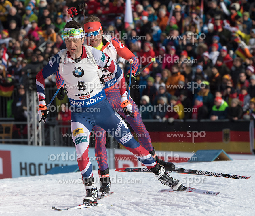 12.02.2017, Biathlonarena, Hochfilzen, AUT, IBU Weltmeisterschaften Biathlon, Hochfilzen 2017, Verfolgung Herren, im Bild Ole Einar Bjoerndalen (NOR) // Ole Einar Bjoerndalen of Norway during Mens pursuit of the IBU Biathlon World Championships at the Biathlonarena in Hochfilzen, Austria on 2017/02/12. EXPA Pictures © 2017, PhotoCredit: EXPA/ Reinhard Eisenbauer